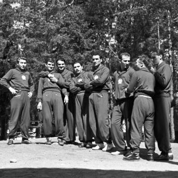 A magyar futball aranykorát mutatják be a Cifrapalotában