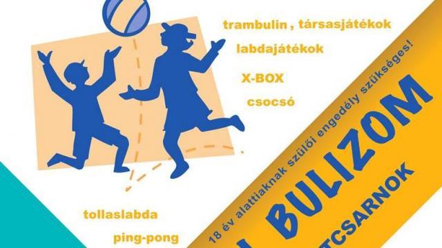 Buli és sport egyszerre a sportcsarnokban