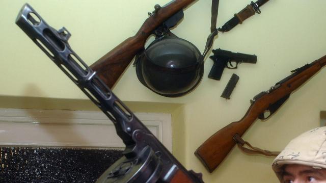 Felfüggesztett börtönbüntetést kapott egy nagyatádi fegyvergyűjtő