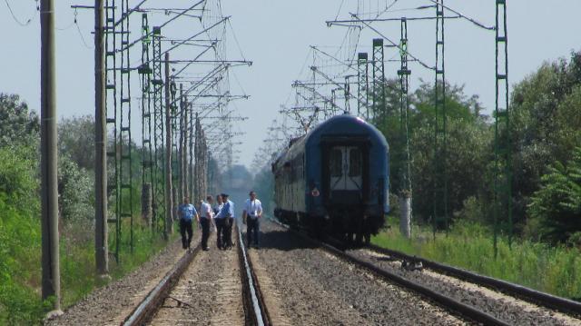 Gázolt a vonat a Debrecen-Tiszalök vonalon