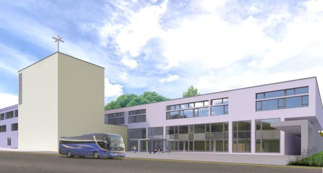 Új iskola épül, gimnáziumi szárnnyal