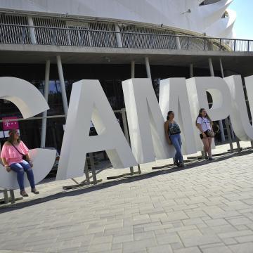 Campus Fesztivál - Megnyílt az Egyetem tér a nulladik napon