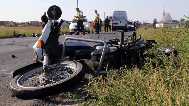 Meghalt egy motoros Somogyban