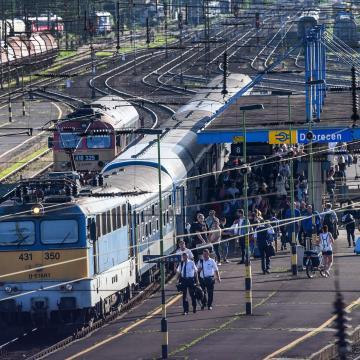 Fokozatosan áll helyre a közlekedés a Budapest-Debrecen-Nyíregyháza-Záhony vonalon