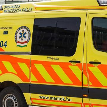 Súlyos baleset történt a Vörösmarty utcában