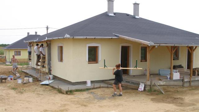 A leginkább a községekben emelkedett az építési kedv