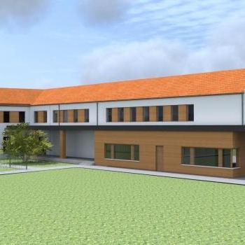 Elkezdődött a nonprofit szolgáltatóház építése