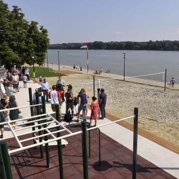 Felújítják a strandokat a Dunakanyarban