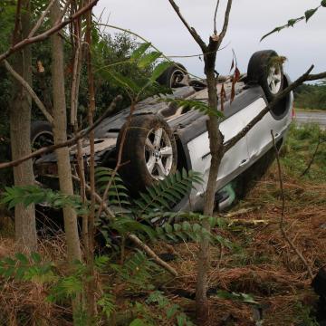 Halálos baleset történt a 85-ös főúton Veszkénynél