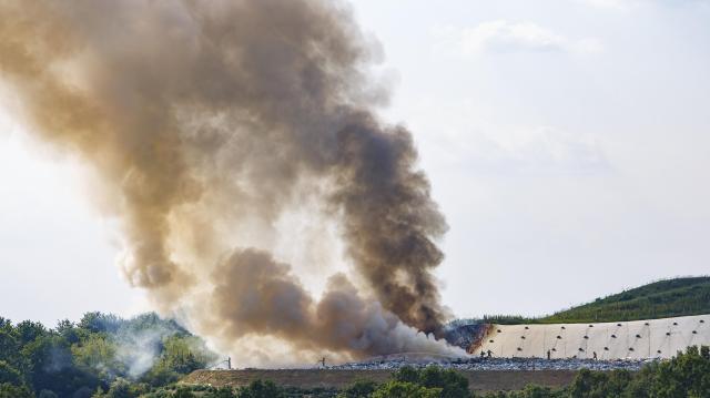Tűz volt egy székesfehérvári panzióban