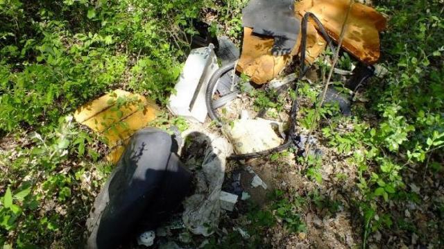 Illegálisan helyezett el hulladékot az erdőben