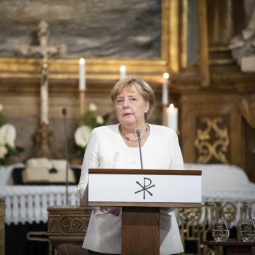Köszönetét fejezte ki Magyarországnak Angela Merkel Sopronban