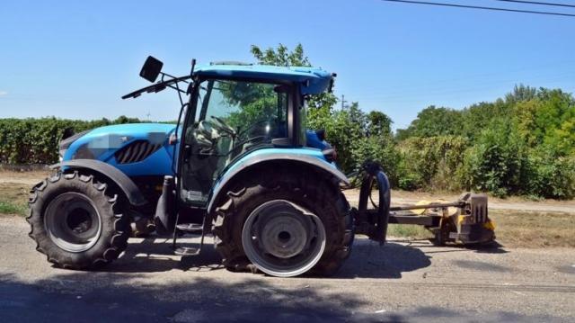 Traktornak ment