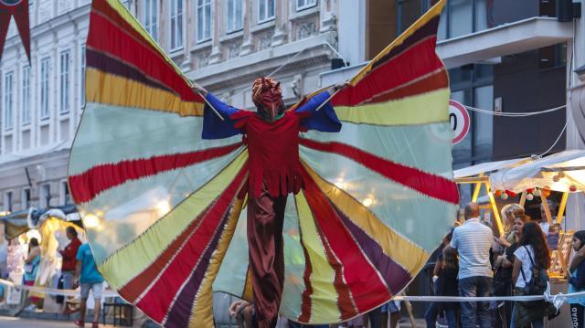 Vihar miatt elmaradt a karneváli felvonulás Szombathelyen