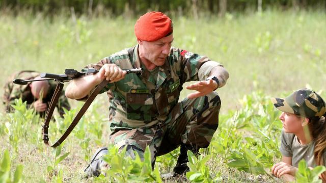 A honvédelmi táborok pályaorientációs hatása már érezhető