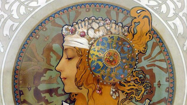 Alfons Mucha műveiből nyílik kiállítás Kecskeméten