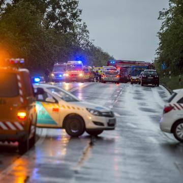 Baleset történt az M7-es autópálya zalai szakaszán