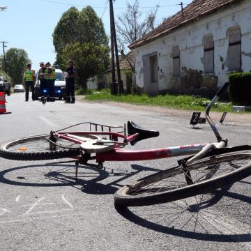 Bicikliseket vertek össze
