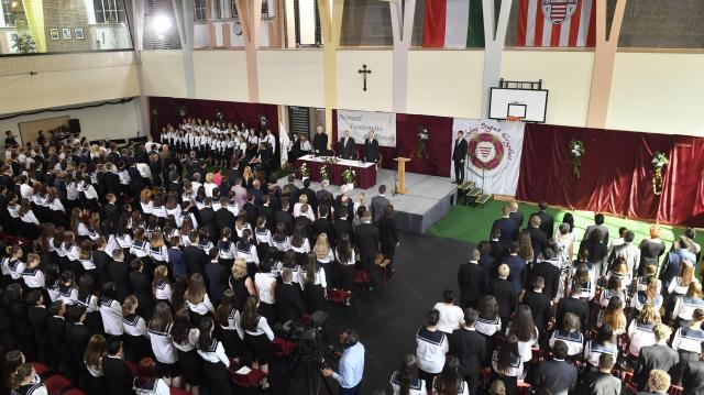 Egyházi oktatási intézmény újult meg Esztergomban