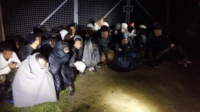 Illegális migránsokat tartóztattak fel Bács-Kiskun megyében