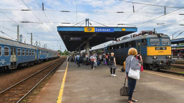 Késnek a vonatok a Budapest-Debrecen-Nyíregyháza-Záhony vonalon