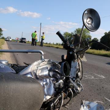 Meghalt egy motoros Balatongyörökön