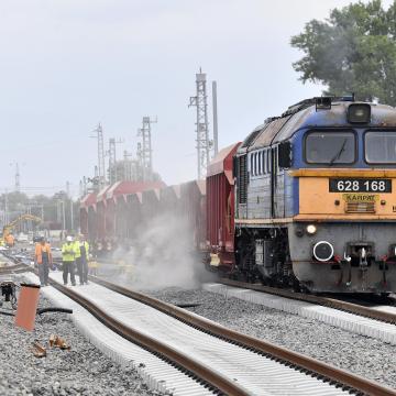 Több vasútvonalon voltak fennakadások a térségében