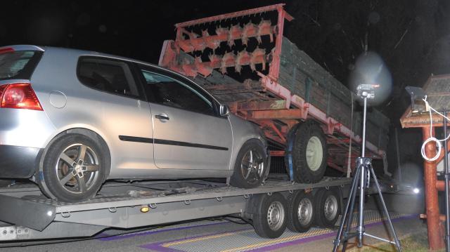 Túlsúlyos járműért bírságolt a rendőrség