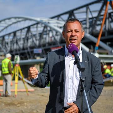 Év végéig elkészül a Győr-Balaton kerékpárút első üteme