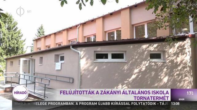 Felújították a zákányi általános iskola tornatermét