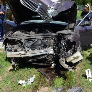 Közúti balesetet okozott