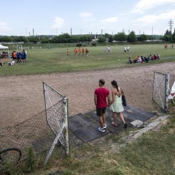 Legkésőbb tavaszra elkészül a váci futballközpont