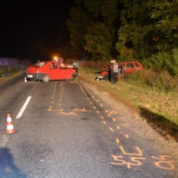 Hat közúti közlekedési balesetnél helyszíneltek
