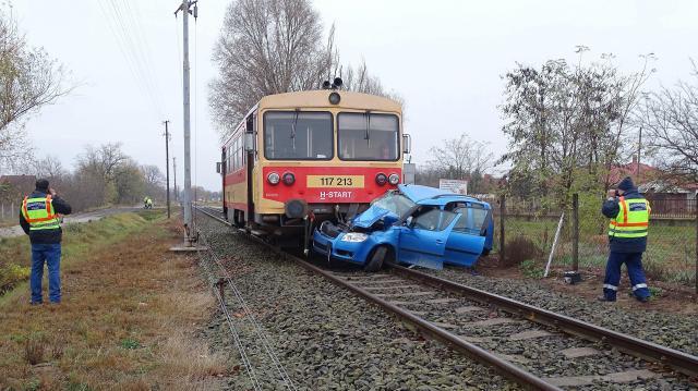Hosszabb a vonatok menetideje a Szeged-Békéscsaba vonalon baleset miatt