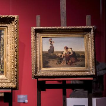 Két alkotással bővült a pécsi Munkácsy-kiállítás