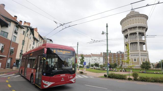 Nyolc új trolibusz áll forgalomba idén Szegeden