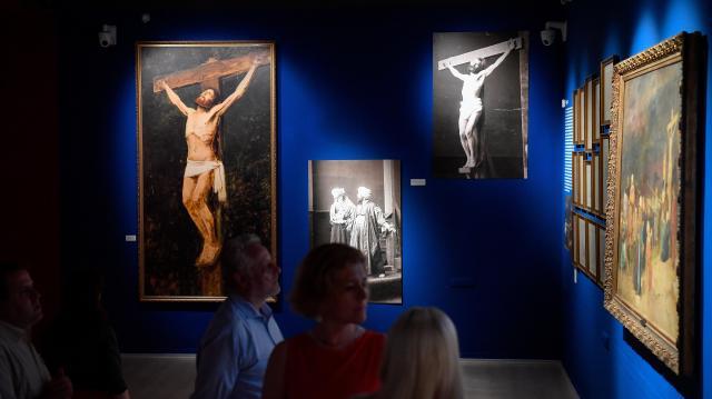 Több mint száz kiállítás a Magyar Festészet Napja programjai között