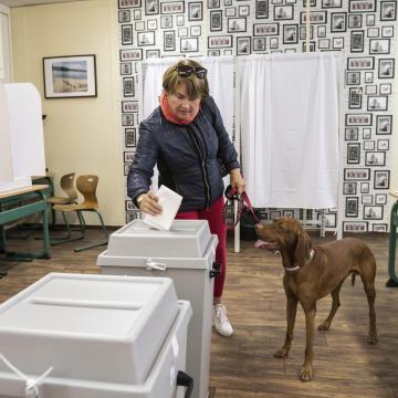 A szavazók 47,2 százaléka voksolt 18:30-ig