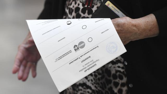 Alsószentmártonban még legalább két órán át tart a szavazás