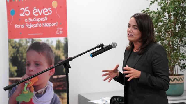 Átadták a Budapesti Korai Fejlesztő Központ felújított épületét