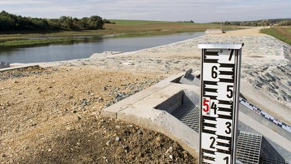 Átadták a Szombathely árvízvédelmét szolgáló dozmati víztározót