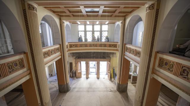 Az év végére befejeződik a százéves szegedi Belvárosi mozi felújítása