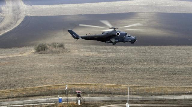 Dóc térségében légi gyakorlat lesz a jövő hét elején