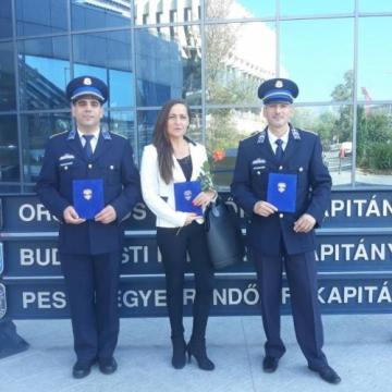 Elismerést kaptak a megyei rendőrei