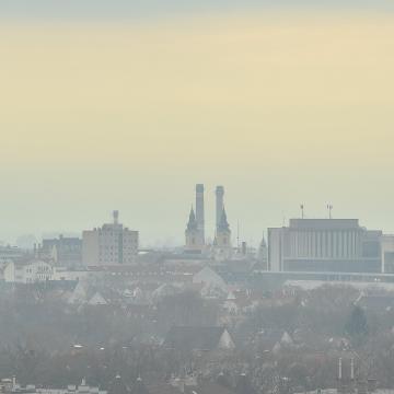 Javult a levegő minősége, de néhány helyen továbbra is magas a légszennyezettség