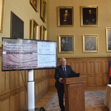 Kiadják a második világháborúban szovjet táborokba került magyar fogoly azonosítóját