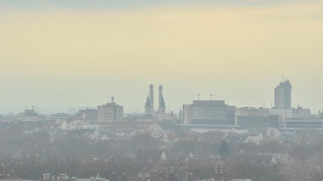 Több településen továbbra sem javult a levegő minősége