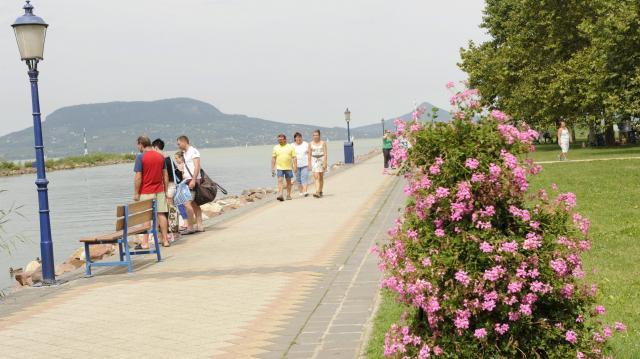 A Balaton partján fontos a környezetvédelem és a tájrendezés