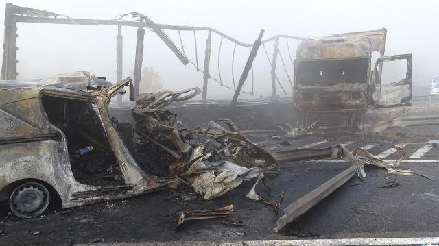 Azonosították az M5-ös autópályán történt baleset valamennyi áldozatát