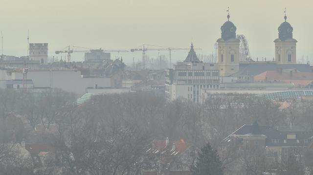 Debrecenben elrendelték a szmogriadó tájékoztatási fokozatát